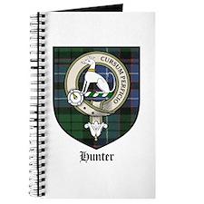 Hunter Clan Crest Tartan Journal