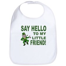 Little Friend Leprechaun Bib