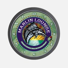 Marlin Lounge Wall Clock