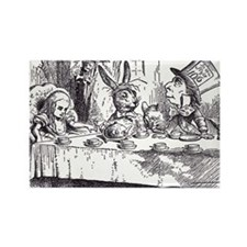 Mad Tea-Party Rectangle Magnet (10 pack)