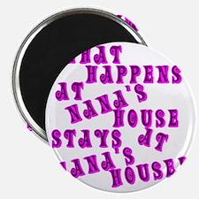 Loud PinkNanasHouse Magnet