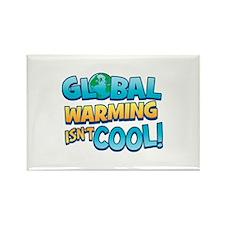 Global Warming Isn't Cool Rectangle Magnet