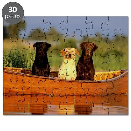 RAIN LABS pan print Puzzle
