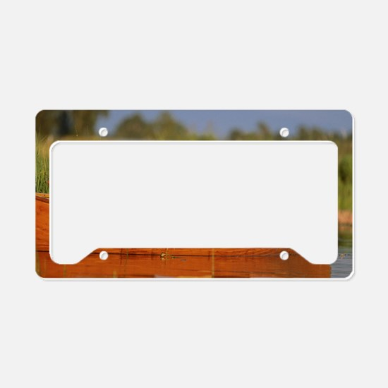 RAIN LABS pan print License Plate Holder