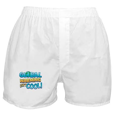 Global Warming Isn't Cool Boxer Shorts