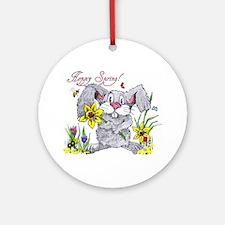 Hoppy Spring Ornament (Round)