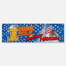 Nicky Hayden Bumper Bumper Bumper Sticker