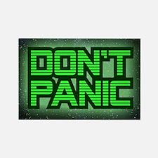 DON'T PANIC Rectangle Magnet