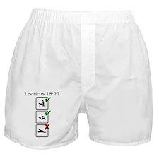 Lev. 18:22 Boxer Shorts
