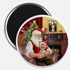(R) - Santas Yorkshire Terrier #17 Magnet