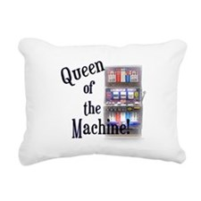 Queen of The Machine Rectangular Canvas Pillow