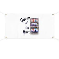 Queen of The Machine Banner