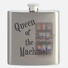 Queen of The Machine Flask