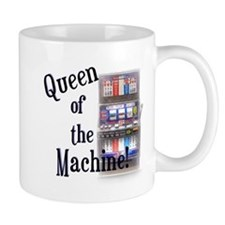 Queen of The Machine Mugs