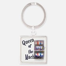 Queen Of The Machine Keychains