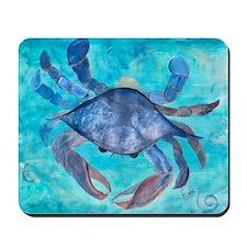 Blue Crab Blanket Mousepad