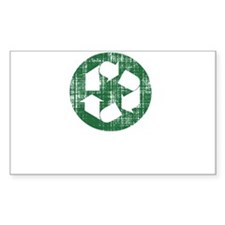 recycle your organs white dist Decal