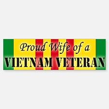 Vietnam Vet Wife Bumper Bumper Bumper Sticker