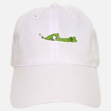 CROCODILE WHITE Baseball Baseball Cap