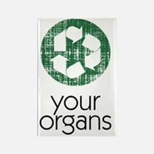 recycle your organs sigg 2 Rectangle Magnet