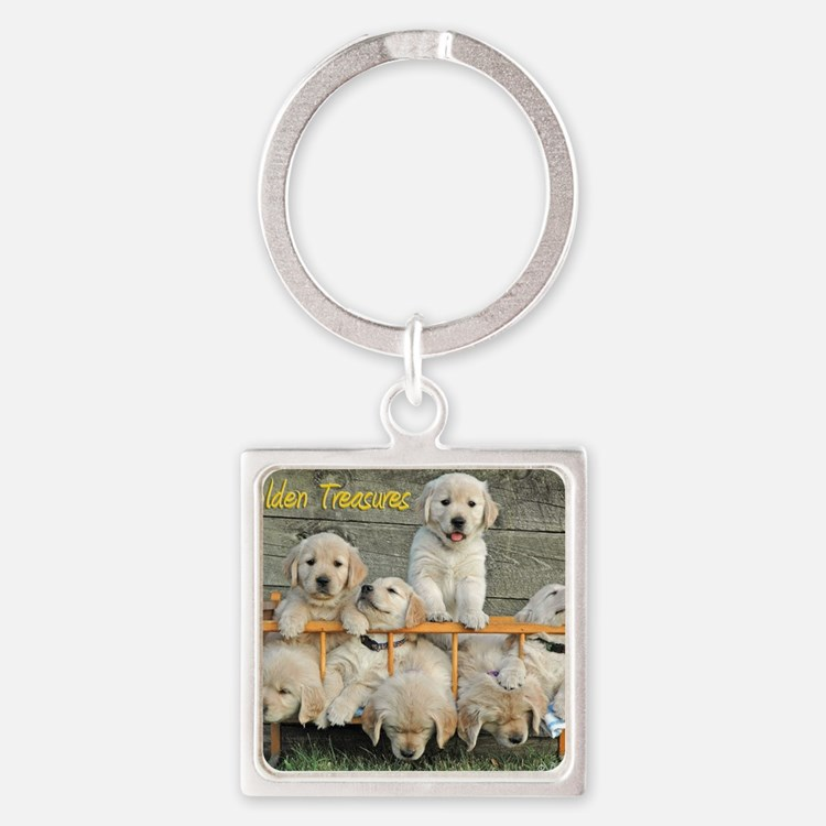 072305C 122_calender Square Keychain
