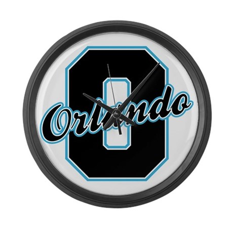 Orlando Letter Large Wall Clock