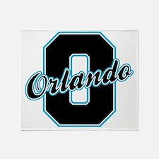 Orlando Letter Throw Blanket