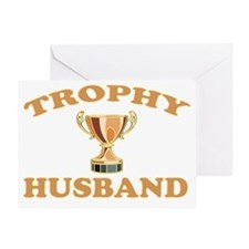 TROPHYHUSBAND Greeting Card