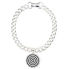 bullseye Charm Bracelet, One Charm
