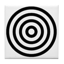 bullseye Tile Coaster