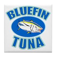 bluefin tuna Tile Coaster