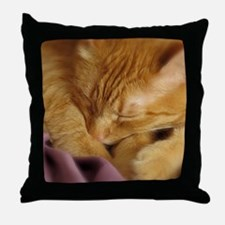 Tigers Aura Throw Pillow