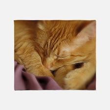 Tigers Aura Throw Blanket
