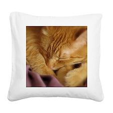 Tigers Aura Square Canvas Pillow