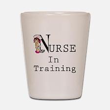 Nurse In Training copy Shot Glass