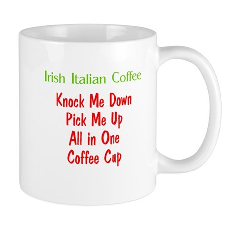 Irish Italian Coffee Mug