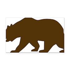 Bear Rectangle Car Magnet