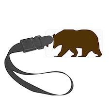 Bear Luggage Tag