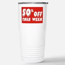 50% week Stainless Steel Travel Mug