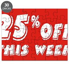 25% week Puzzle