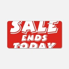 sale end today Aluminum License Plate