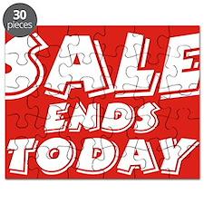 sale end today Puzzle