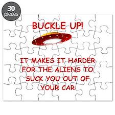 funny alien abduction ufo joke Puzzle