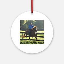 IRON HORSE PASO FINOS STARDAVID Round Ornament