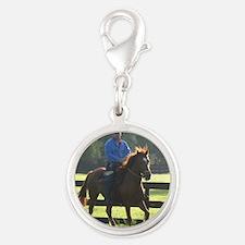 IRON HORSE PASO FINOS STARDAVI Silver Round Charm