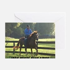 IRON HORSE PASO FINOS STARDAVID Greeting Card