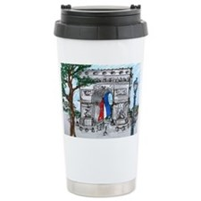 2-arc signed calendar Travel Coffee Mug