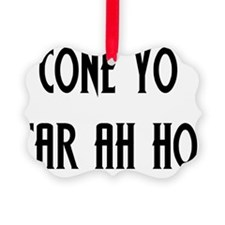 ConeYoCarAhHo_Light Ornament