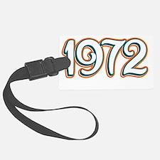 1972_Dark Luggage Tag