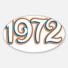 1972_Dark Sticker (Oval)